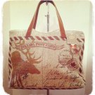 """Vintage Canada"" Canadian Postcard print Tote bag $59.99 #L994-POST"