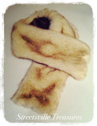 Lady Rosedale Faux fox Scarf $34.99 #L959-1428