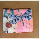 """Modern Vintage"" Dragonfly/pink background wallet $16.99 #MV1032"
