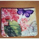 """Modern Vintage"" Butterfly/pink lillac wallet $16.99 #MV1032"