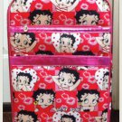 "Betty Boop ""small"" Red And Pink Collage Style luggage $89.99 #BB0211c"