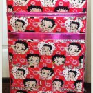 "Betty Boop ""large"" Red And Pink Collage Style luggage $139.99 #BB0211A"