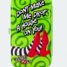 """Drop a house on you"" Smartphone wristlet $18.99 #17615"