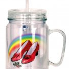 Ruby Slippers Acrylic Mason Jar $14.99 #17905