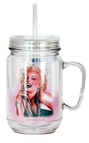 Marilyn Monroe Acrylic Mason Jar $14.99 #17937