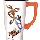 Wile-e coyote/ Road Runner Ceramic Travel mug $19.99 #12613