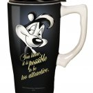 Pepe Le Pew Ceramic Travel Mug $19.99 #12000