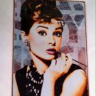 "Breakfast at Tiffanys ""Face"" Tin Sign $9.99 #30023"