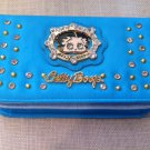Betty Boop Blue Wallet w/long strip $34.99 #W-3013BPBLU