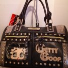 Betty Boop Black handbag $69.99 #BB485-ABLK
