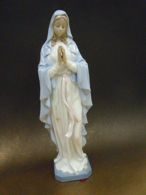 Our Lady of Grace Porcelain Figure $49.99 #A771-L989