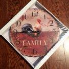 """""""Family"""" clock $29.99 #03102"""