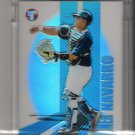 2004 TOPPS PRISTINE DIONER NAVARRO UNCIRCULATED REFRACTOR CARD
