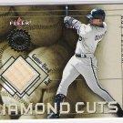 2001 FLEER AUTHORITY RAY DURHAM WHITE SOX DIAMOND CUTS GAME-USED BAT CARD