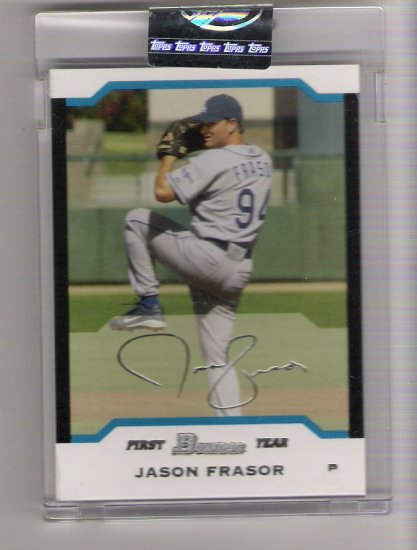 2004 BOWMAN JASON FRASOR DODGERS UNCIRCULATED CARD