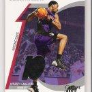 2002-03 TOPPS TEN TEAM LEADER RELIC ANTONIO DAVIS RAPTORS WARM UPS CARD