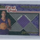 2001-02 TOPPS XPECTATIONS FIRST SHOT MICHAEL BRADLEY RAPTORS JERSEY CARD