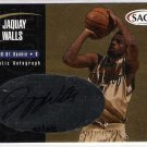 2000 SAGE GOLD JAQUAY WALLS AUTOGRAPHED CARD