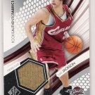 2005 SP ROOKIE AUTHENTICS LUKE JACKSON CAVS  JERSEY CARD