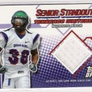 2006 TOPPS DRAFT PICKS AND PROSPECTS SENIOR STANDOUTS TERRENCE WHITEHEAD GAME-WORN JERSEY CARD