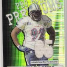 2005 TOPPS CHROME PRO BOWL PREMIUMS SHAUN ROGERS LIONS GAME-WORN PRO BOWL JERSEY