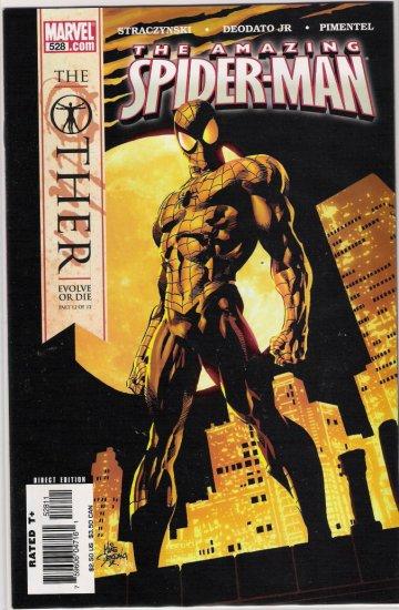 AMAZING SPIDER-MAN #528-NEVER READ!