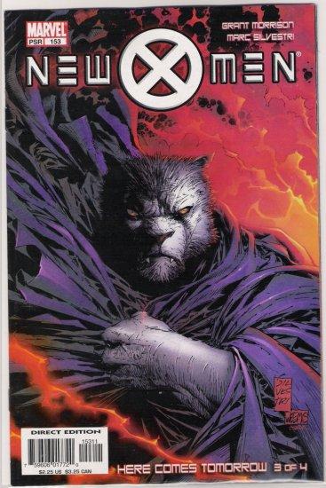 NEW X-MEN #153 GRANT MORRISON-NEVER READ!
