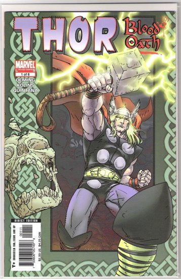 THOR BLOOD OATH #1-NEVER READ!