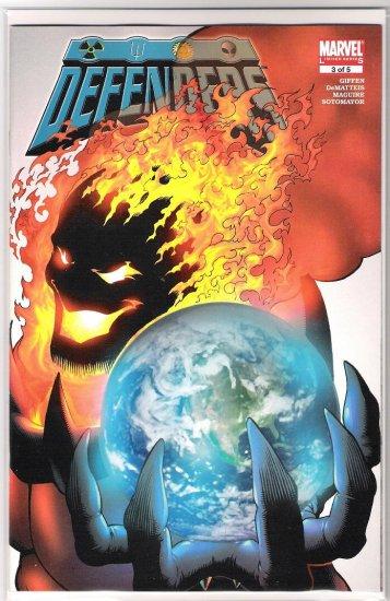 DEFENDERS #3 (2005 3RD SERIES)-NEVER READ!