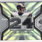 2007 UD SPX WINNING MATERIALS MARC BULGERS RAMS GAME-WORN JERSEY