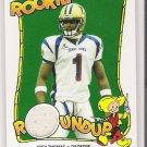 2004 TOPPS BAZOOKA ROOKIE JOEY THOMAS PACKERS SENIOR BOWL JERSEY CARD