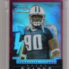 2004 BOWMAN CHROME RANDY STARKS TITANS UNCIRCULATED ROOKIE REFRACTOR CARD