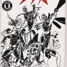JSA #83 2ND PRINT SKETCH COVER - NEVER READ!