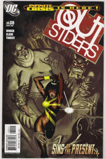 OUTSIDERS #30-NEVER READ!