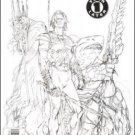 AQUAMAN SWORD OF ATLANTIS #40 2ND PRINT SKETCH COVER-NEVER READ!