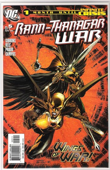 RANN-THANAGAR WAR #5-NEVER READ!