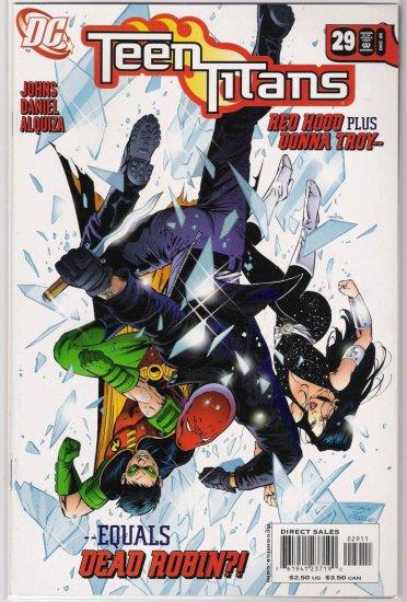 TEEN TITANS #29 GEOFF JOHNS-NEVER READ!