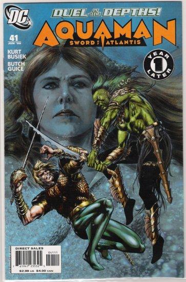 AQUAMAN SWORD OF ATLANTIS #41-NEVER READ!