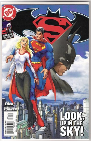SUPERMAN/BATMAN #9 JEPH LOEB-MICHAEL TURNER-NEVER READ!