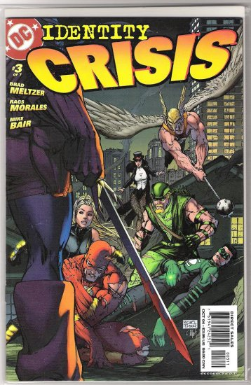 IDENTITY CRISIS #3 1ST PRINT-NEVER READ!