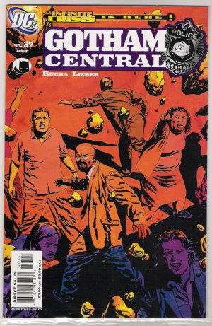 GOTHAM CENTRAL #37-NEVER READ!