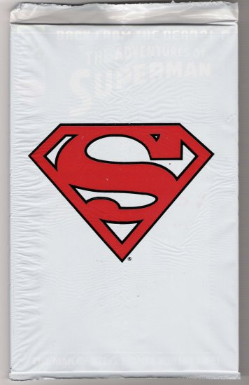 ADVENTURES OF SUPERMAN #500 BAGGED COLLECTOR'S SET-NEVER READ!