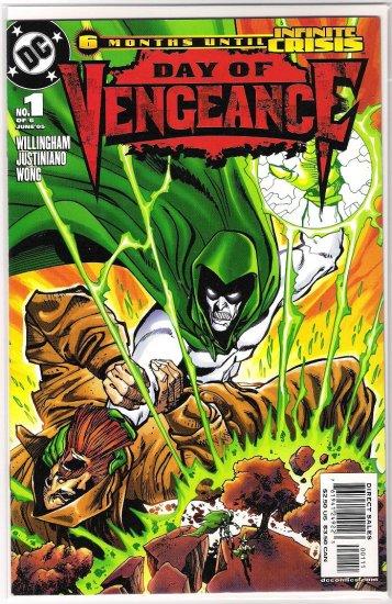 DAY OF VENGEANCE #1 1ST PRINT-NEVER READ!