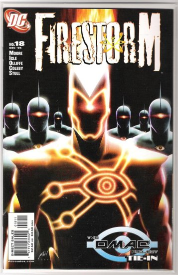 FIRESTORM #18-NEVER READ!