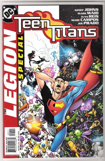 TEEN TITANS/LEGION SPECIAL #1-NEVER READ!