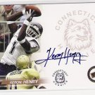 2005 PRESSPASS KERON HENRY HUSKIES AUTHENTIC AUTOGRAPHED CARD