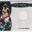 2006 BOWMAN ELEVATION BOARD OR DIRECTORS RELIC CHAUNCEY BILLUPS PISTON JERSEY CARD #'D 54/99!
