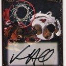 1997 EDGE ROOKIE RAGE VENSON HAMILTON AUTOGRAPHED CARD