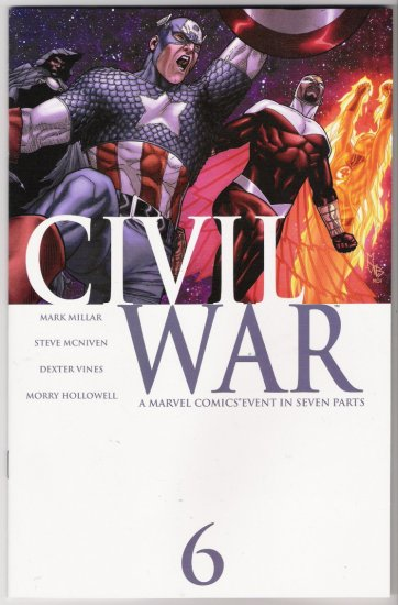 CIVIL WAR #6-NEVER READ!