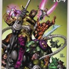 THUNDERBOLTS #104 2ND PRINT CIVIL WAR-NEVER READ!